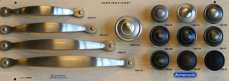 Cabinet Hardware by Copper Canyon Design