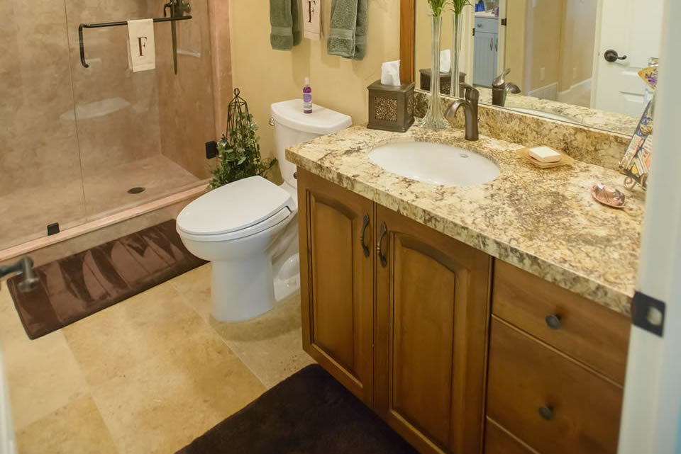Copper Canyon Design Custom Bathroom Cabinets