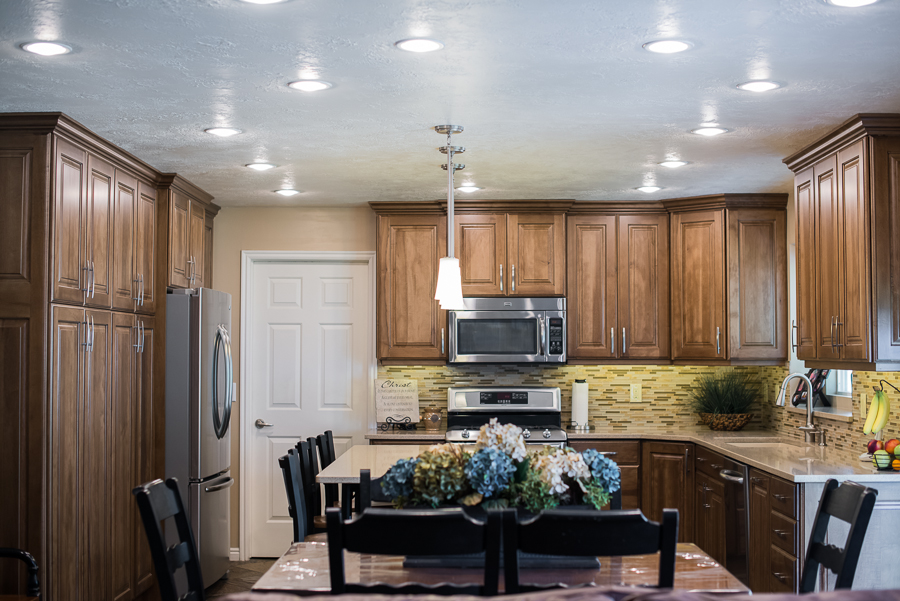 Copper canyon design custom kitchen cabinets for Kitchen in the canyon
